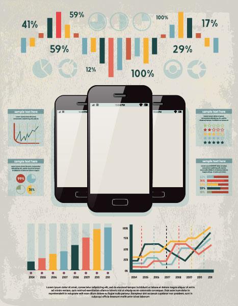 business infographics elements vector 04