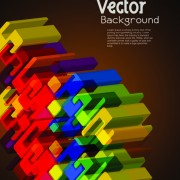Link toSet of 3d concept vector background 01