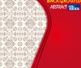 Set of Colorful abstract vector background art 02