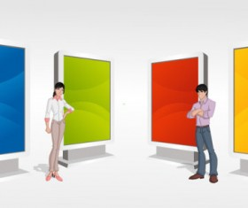 Different Figure Image vector 03