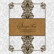 Link toVector of exquisite vintage floral borders 04