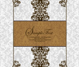 Vector of Exquisite Vintage Floral Borders 04