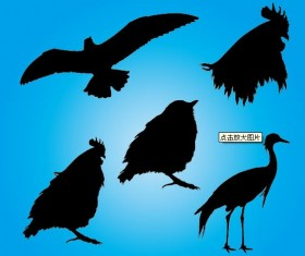 Free Vector Animals Silhouettes 02