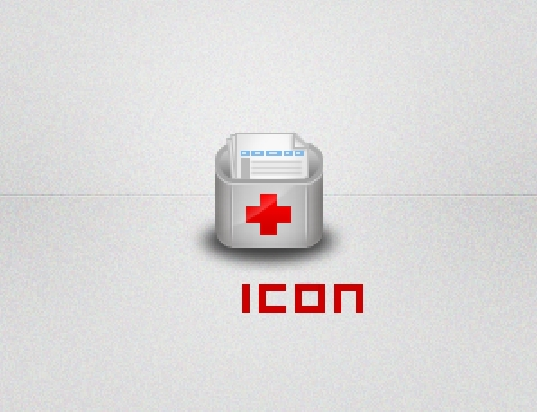 Cute Medical PSD icon