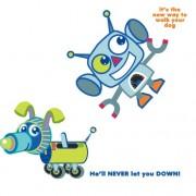 Link toElements of cute cartoon robot vector 03