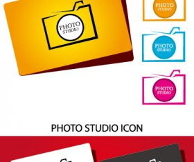 laconic cards design elements vector 02