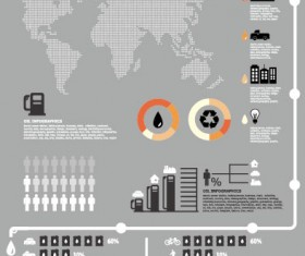Business infographics and scheme elements vector 03