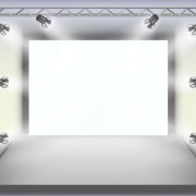 Panels and spotlights elements vector 01