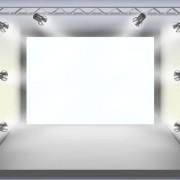 Panels and spotlights elements vector 01
