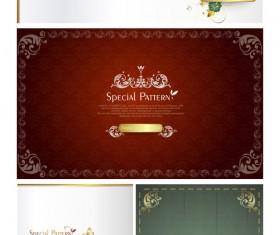 Ornate Invitation background vector
