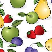 Link toSet of various vivid fruits vector 02