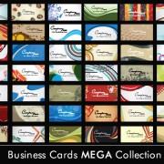 Link toSet of business cards design elements vector 01