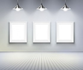 Set of Light and Panels elements vector 01
