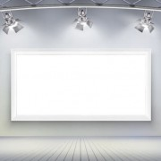 Set of light and panels elements vector 02