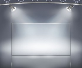 Set of Light and Panels elements vector 03