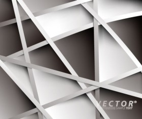abstract White vector background art 04