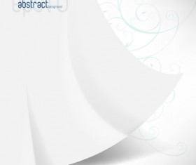 abstract White vector background art 01