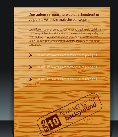 Set of Cover brochure and poster design elements vector 05