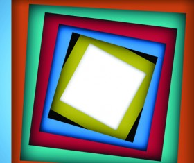 Abstract of Colorful frame background vector 01