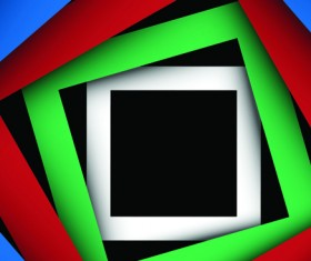 Abstract of Colorful frame background vector 04