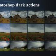Link toDark photoshop actions
