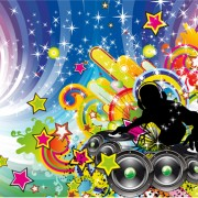 Link toMusic elements disco dance vector 04