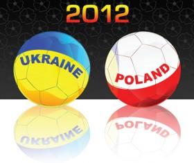 UEFA EURO 2012 design elements vector 02