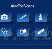 Link toDifferent medical icon vector set