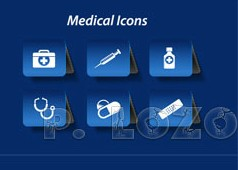 Different Medical icon vector set