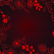 Link toHand drawn floral backgrounds vector 02