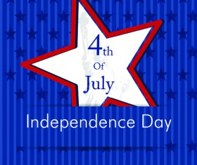 Independence Day July 4 design elements vector 01