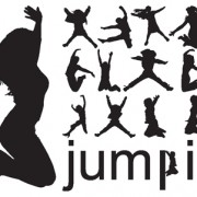 Link toJumping people silhouettes vector 01
