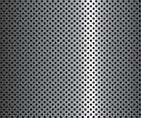 Elements of Steel backgrounds vector set 02
