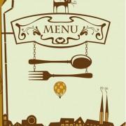 Link toSet of retro cover menu cafe and restaurant vector 01