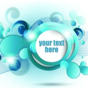 Link toRange circle for text template vector background 04