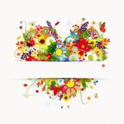 Link toSet of vector colorful butterflies background 05