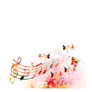 Link toVector butterflies and flower background art 05