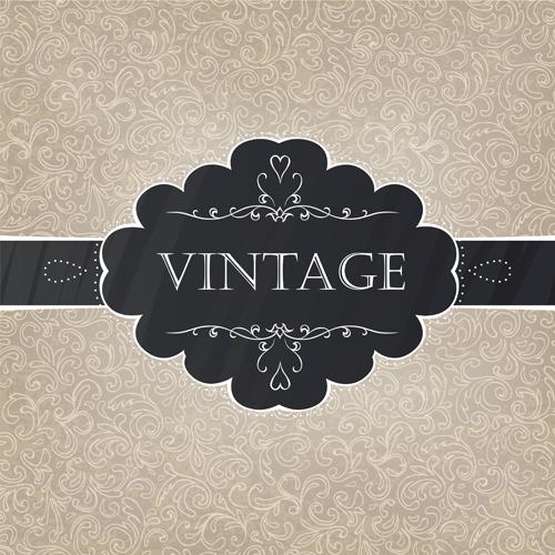vintage Pattern elemen...