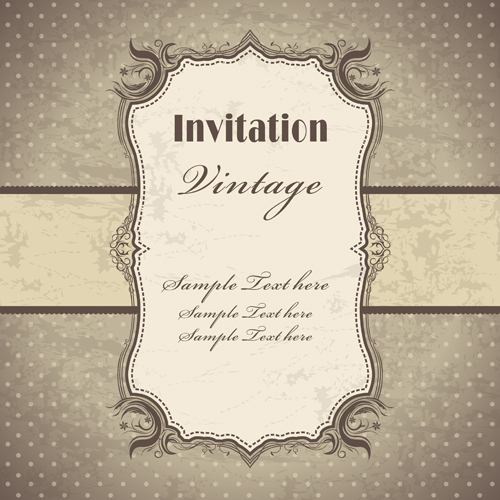 Vintage pattern elements background vector 05 vector background vintage pattern elements background vector 05 stopboris Choice Image