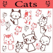 Link toSet of cute cat brushes 01