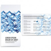 Link toSet of tri fold business brochure cover vector 01