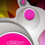 Link toAbstract concept brochure cover background vector 03