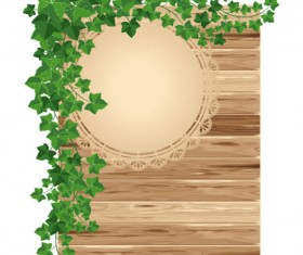 Premium Quality Wooden Billboard vector 03