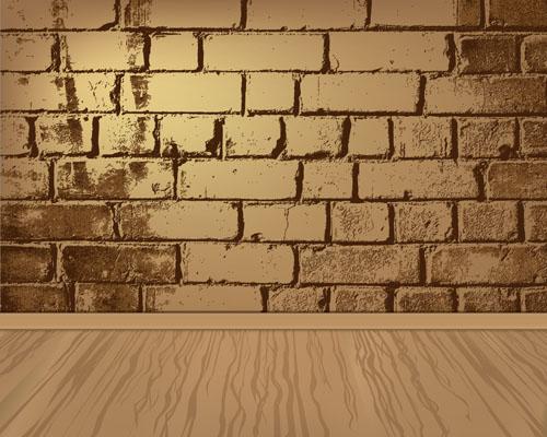 Cartoon wall background