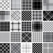 Link toSet of fabric patterns vector 03