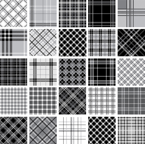 Set Of Fabric Patterns Vector 40 Free Download Interesting Fabric Patterns