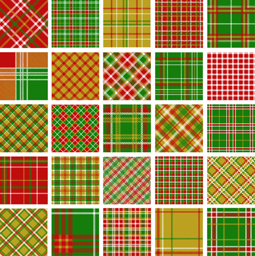 Set Of Fabric Patterns Vector 40 Free Download Fascinating Fabric Patterns