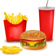 Link toDelicious fast food vector set 01