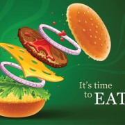 Link toDelicious fast food vector set 02
