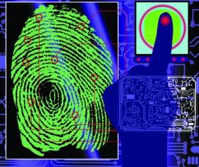 Set of Fingerprint identification vector 05